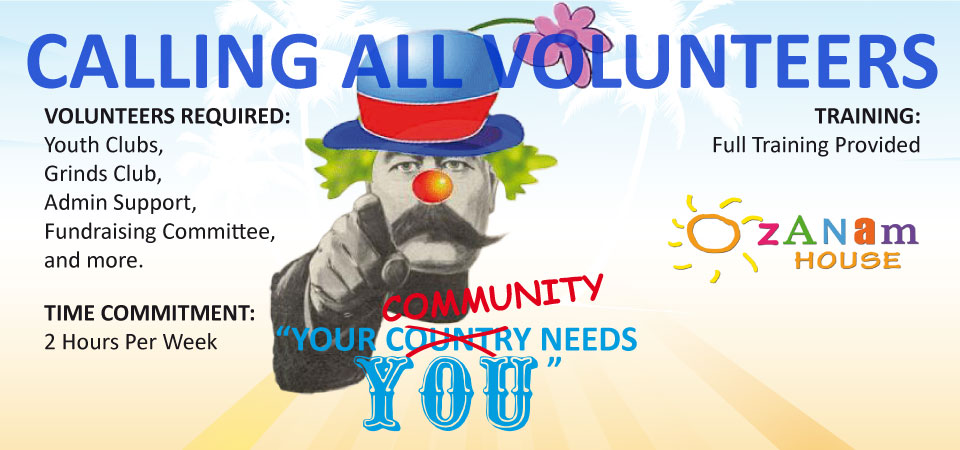 Image of Volunteer Recruitment Poster