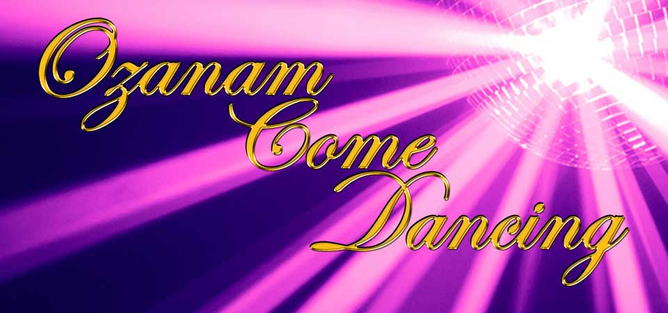 Ozanam Come Dancing Logo